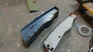 Chevy Truck Rust Repair: Floor Support