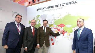 Moreno afirma que Andalucía será un refugio para la inversión