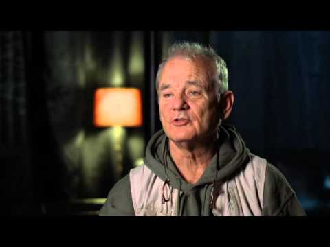 """The Jungle Book: Bill Murray """"Baloo"""" Behind the Scenes Movie Interview"""