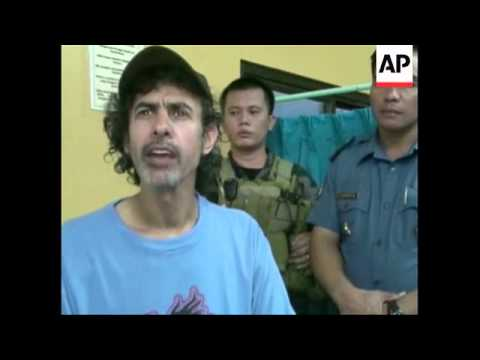 Jordanian journalist released by Abu Sayyaf after nearly one-and-a-half years