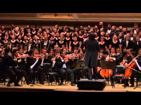 Orquesta Sinfónica Simón Bolívar de Venezuela en el Carnegie Hall de Nueva York