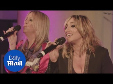All Saints perform Never Ever at ELLE Style Awards 2016  Daily Mail