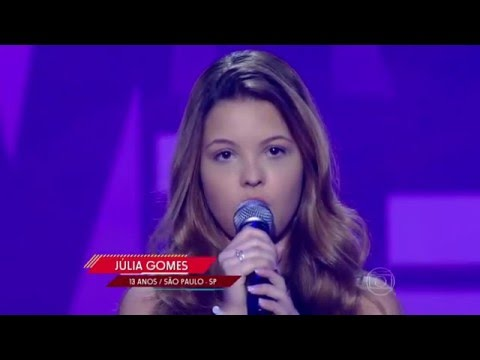 Júlia Gomes canta 'Listen' no The Voice Kids - Audições|1ª Temporada