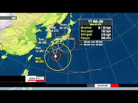Typhoon Ma-on brushes Daito Island 18_11_256k.wmv