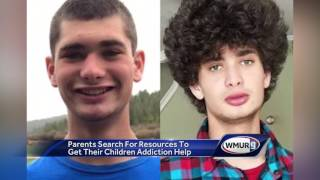 Parents search for resources to get recovery help for sons