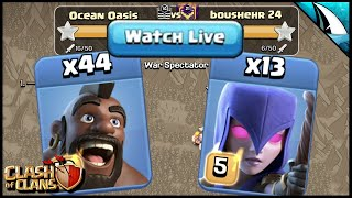 44 Hogs & 13 Witches are so STRONG!