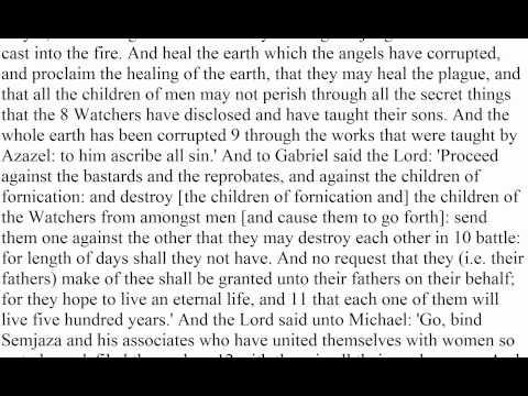 Book of Enoch 1-20
