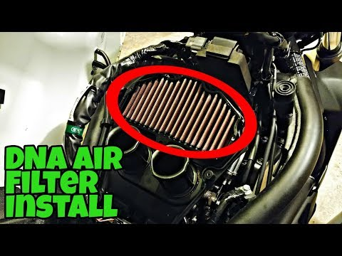 DNA Air Filter Install | Kawasaki Vulcan S | Install Video