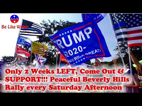 Only 2 Weeks LEFT, Come Out & SUPPORT!!! Peaceful Beverly Hills Rally every Saturday Afternoon