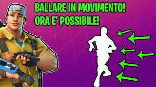 "NEW ""GLITCH"" TO DANCE WHILE YOU MOVE!! FORTNITE - SAVE THE WORLD ITA"
