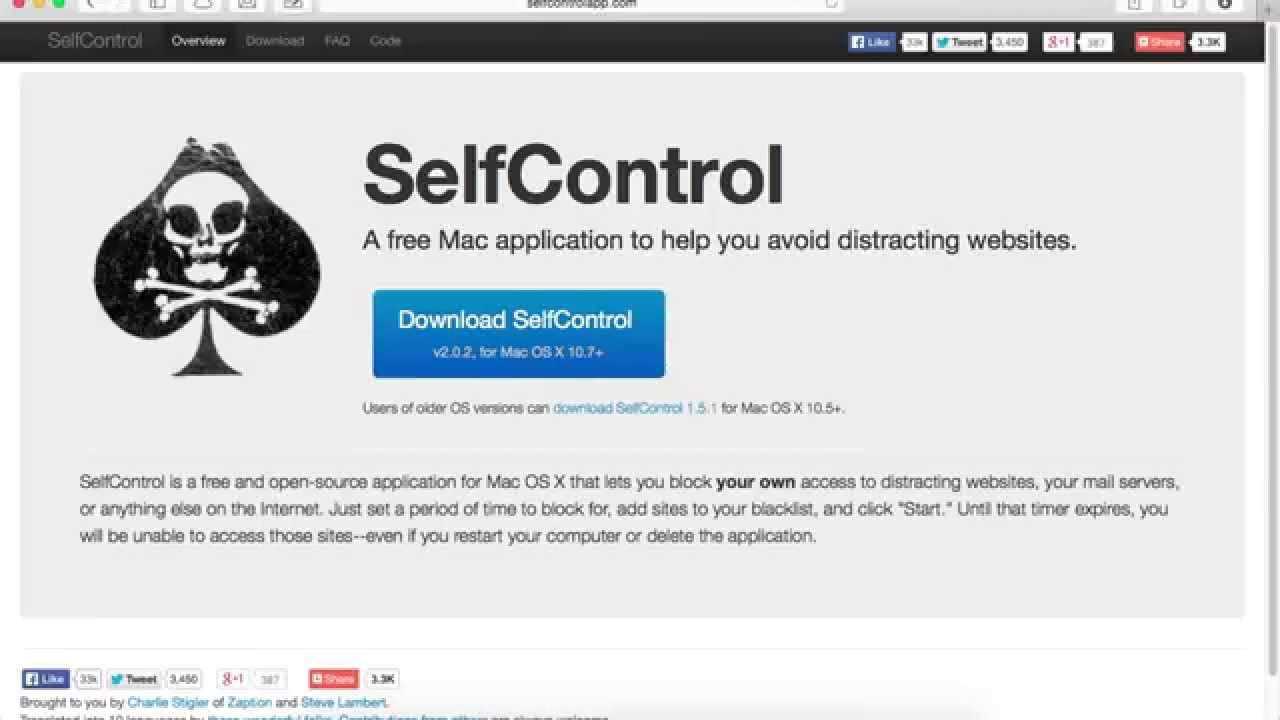 How To Block Websites That Distract You  Selfcontrol Mac -7766