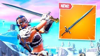 A New SWORD Weapon in Fortnite..