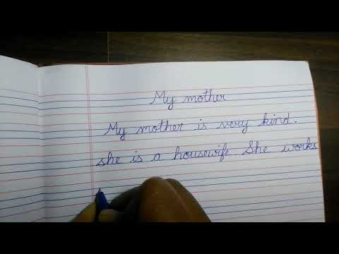 I love my mother because essay