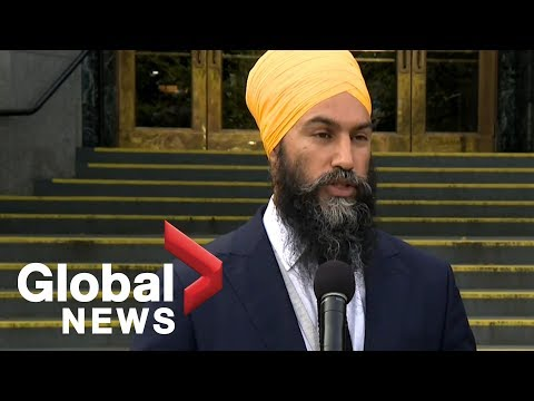 Canada Election: Jagmeet Singh holds media avail in Vancouver after meeting with mayor