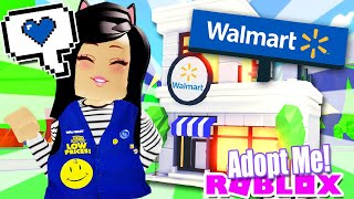I OPENED WALMART* in ADOPT ME | SHOP HOME TOUR Pets Shop House Store
