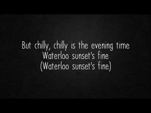 The Kinks - Waterloo Sunset (Lyrics)
