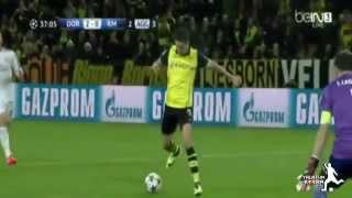 BVB Borussia Dortmund vs. Real Madrid 2-0 - UEFA Champions League 2014 - Goals of Marco Reus