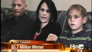 Mesa man hits $5.7million jackpot