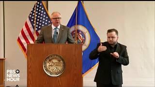 Gambar cover WATCH: Minnesota governor gives coronavirus update -- March 18, 2020