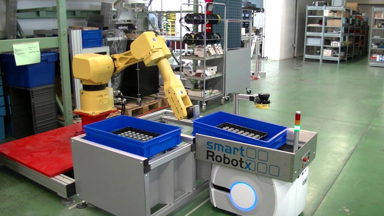 Mobile Transportlösung von smart robotX