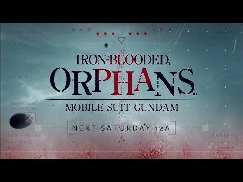 Toonami - Gundam Iron Blooded Orphans Promo (HD 1080p)