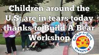 BUILD-A-BEAR WORKSHOP SHUT DOWN/ Pay Your Age Event Cancelled