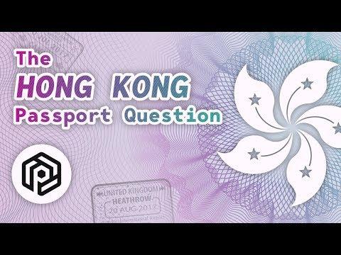 The Hong Kong Passport Question