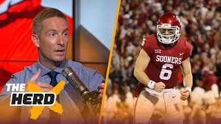 Joel Klatt reacts to the new CFB rankings going into Week 13 of the season | THE HERD