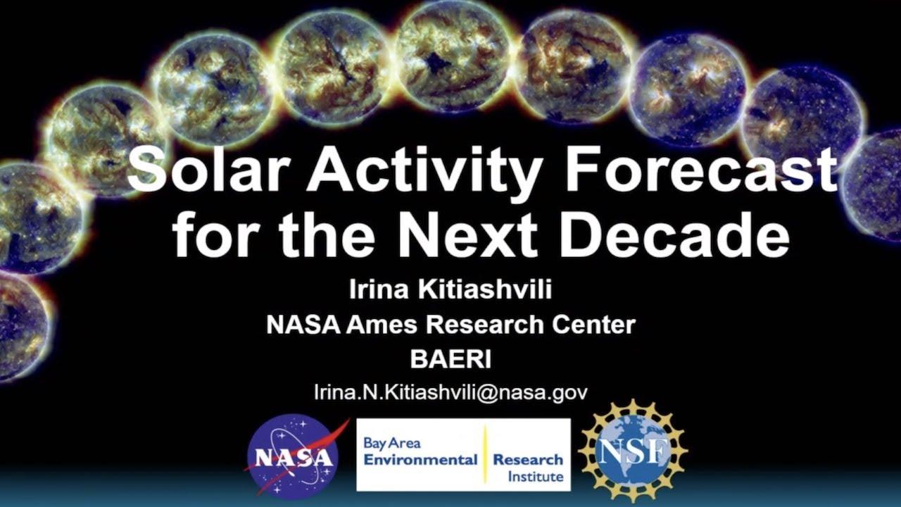 Irina Kitiashvili with the NASA Solar Cycle 25 Forecast