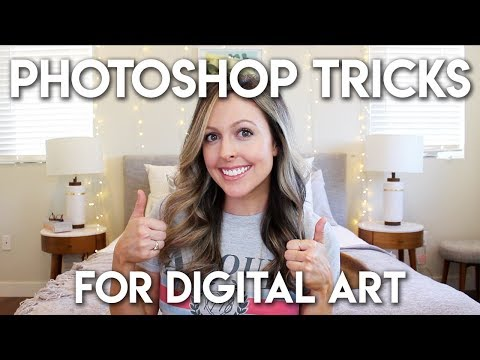 PHOTOSHOP TRICKS FOR DIGITAL ARTISTS