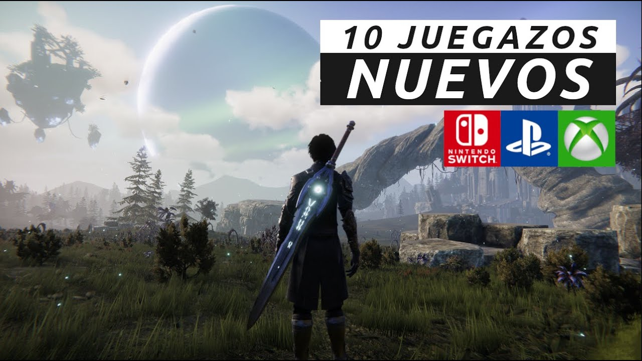 10 JUEGAZOS NUEVOS ¡Te encantarán! (Switch   PS4   PS5   Xbox   Xbox Series X S)