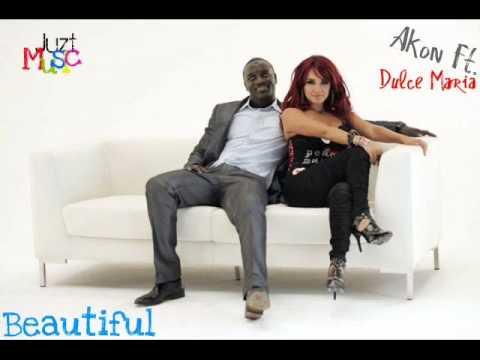 Akon Ft Dulce María  Beautiful + Download + Lyrics