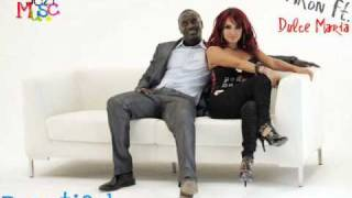 Akon Ft. Dulce María - Beautiful + Download + Lyrics