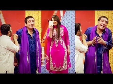 Zafri Khan Stage Drama Comedy Clip 2019 - Zafri Tik Tok Full Comedy Clip 2019