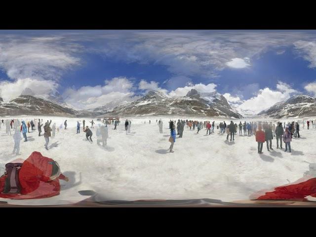 Glaciar Athabasca - Video 360