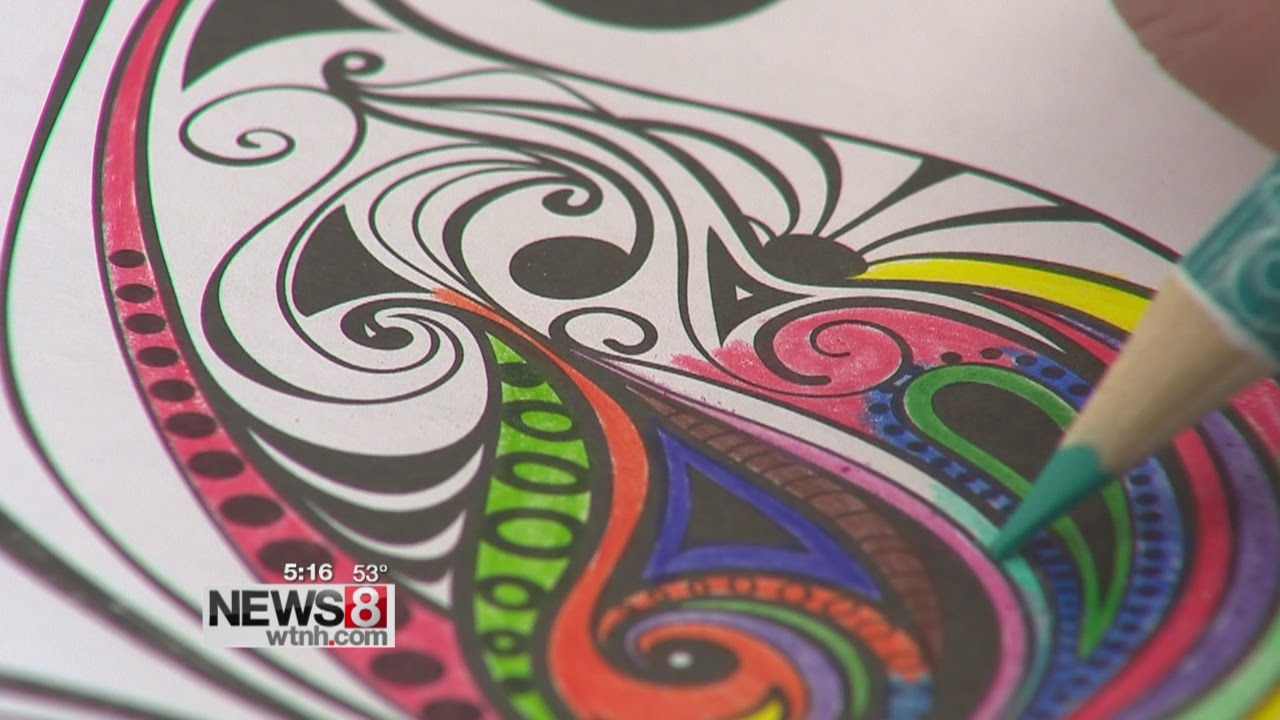 Therapeutic Benefits To Adult Coloring Books