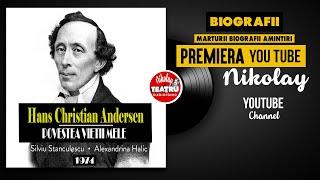 Hans Christian Andersen - Povestea vietii mele 1974 Alexandrina Halic TEATRU RADIOFONIC BI ...