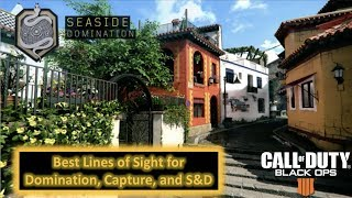 Black Ops 4 Spots & Lines of Sight | Seaside Map