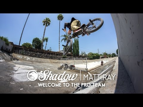 Matt Ray Welcome to the Shadow Pro Team