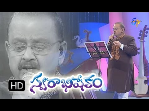 Edo Oka Raagam Song - SPbrahmanyam Performance in ETV Swarabhishekam - 25th Oct 2015