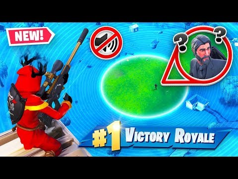 SUPPRESSED SNIPER TROLLING In Fortnite!