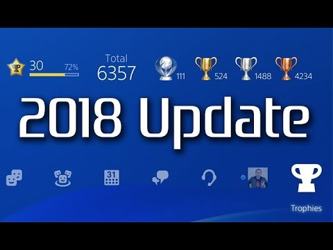 My PSN Trophy Collection (2018 Update)  111 Platinums, Level 30