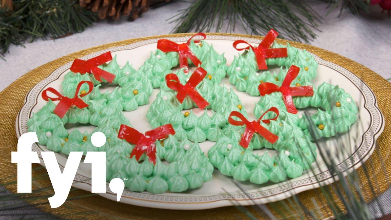 Sweet Treats Meringue Wreath Cookies Recipe Fyi