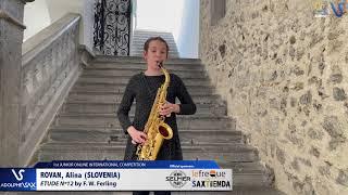 Alina Rovan – Etude Ferling 12