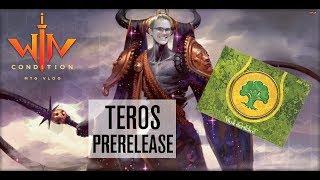Як грали МТГ пререлиз в 2013? розпакування пререлизного набору Терос і збір MTG колоди