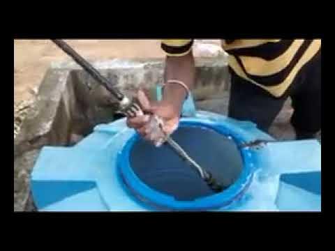 كيفية تنظيف وتعقيم خزانات المياه