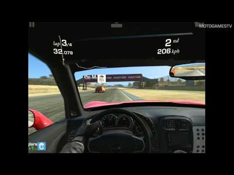 Real Racing 3 IPad 3) - Chevrolet Corvette ZR1 Gameplay