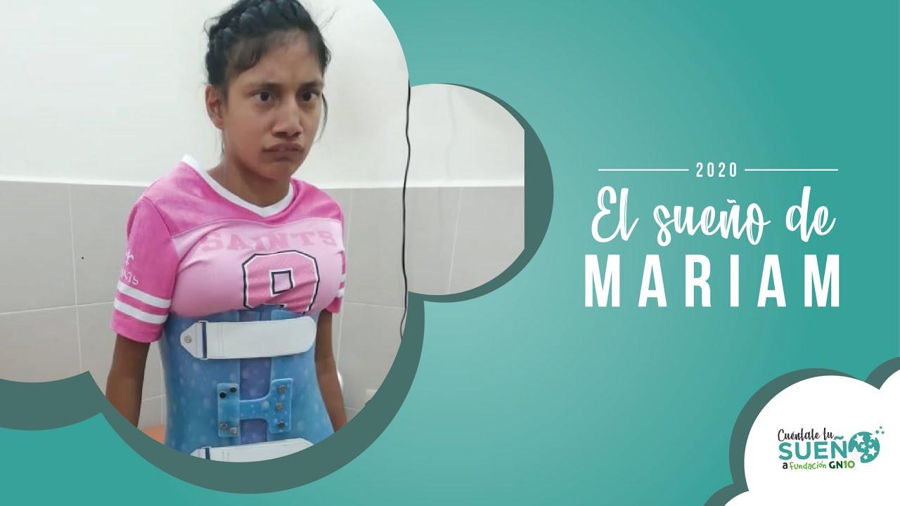 Mariam podrá mejorar su calidad de vida