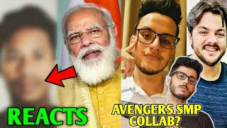 PM Narendra Modi Appreciated This YouTuber!- Reaction | CarryMinati & Triggered Minecraft, Ashish |