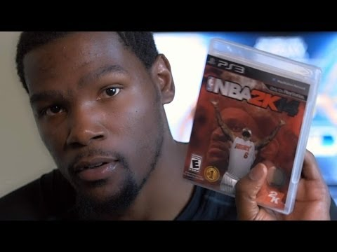 NBA 2K14 - Kevin Durant on NBA 2K14
